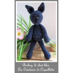 Doudou the blue cat -...