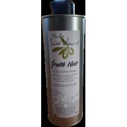 """Huile d'olive extra vierge """"fruité noir"""" du moulin saint Vincent à Jouques- Eric Garcin producteur"""