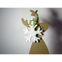 White Ceramic Flake - A...