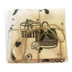 Lingettes lavables, pratiques et écologiques. Création artisanale de l'Aiguille de Liana au village de Jouques