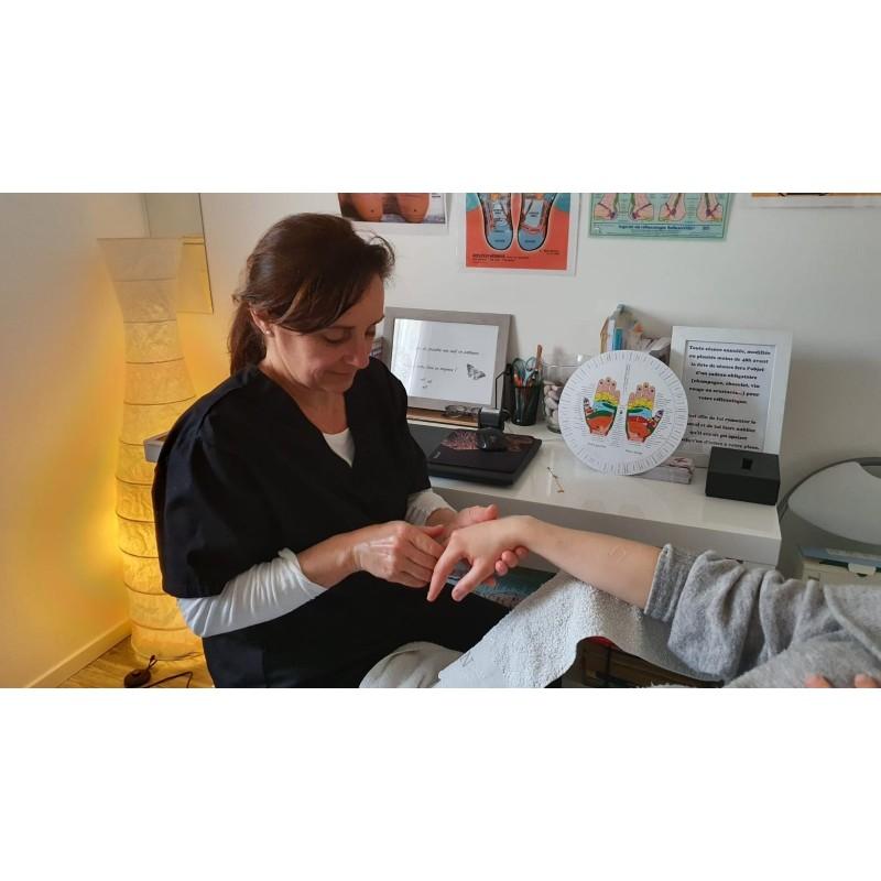 Séance bien-être, détente lâcher-prise avec la réflexologie en Provence