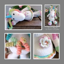 Unicorn handmade blankie...